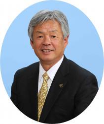 根本洋治市長の写真
