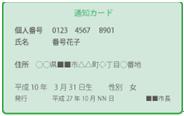 通知カード2