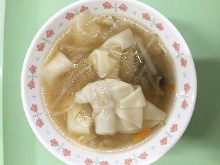 ワンタンスープ(1)