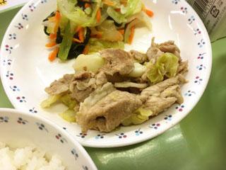 豚肉の生姜炒め(1)