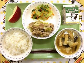 豚肉の生姜炒め(2)