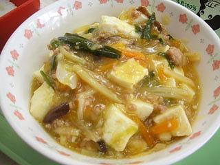 野菜マーボー豆腐(1)