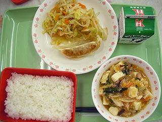 野菜マーボー豆腐(2)