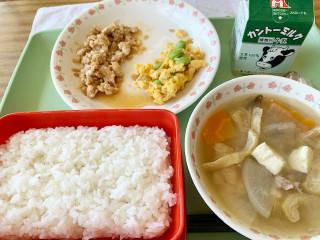 野菜のおかかマヨ和え(1)