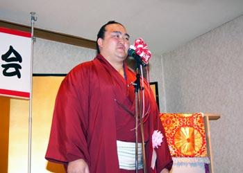 稀勢の里総会2013・あいさつ
